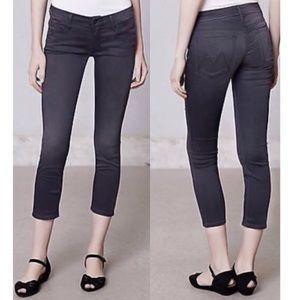 Anthropologie Mother Looker Crop Jeans Sz 26